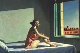 Edward Hopper: Morning sun, 1952