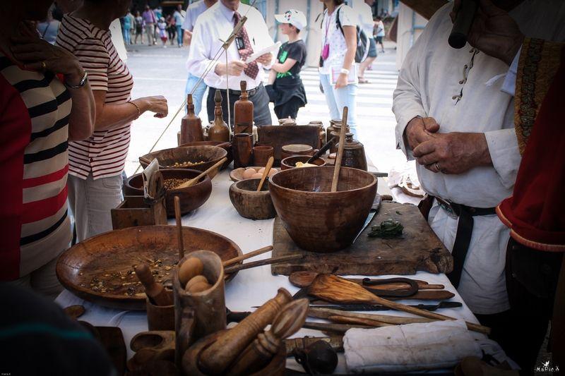 stand de cuisine médiévale