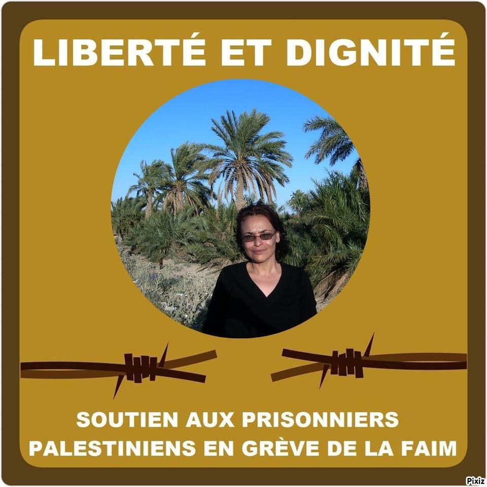 Grève de la faim des prisonniers palestinien en Israel