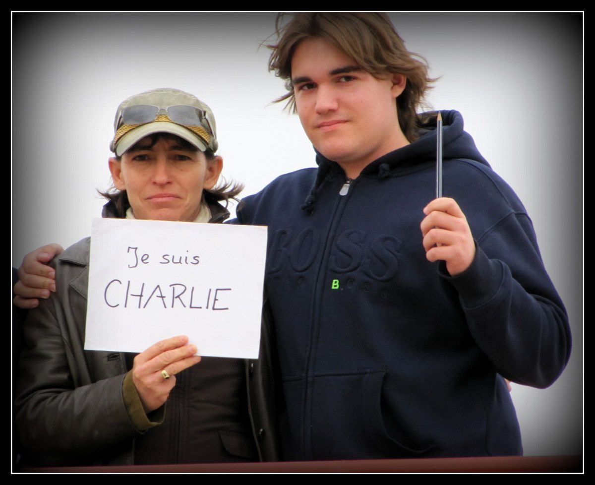 """les """" Charlie """" du Maroc..."""