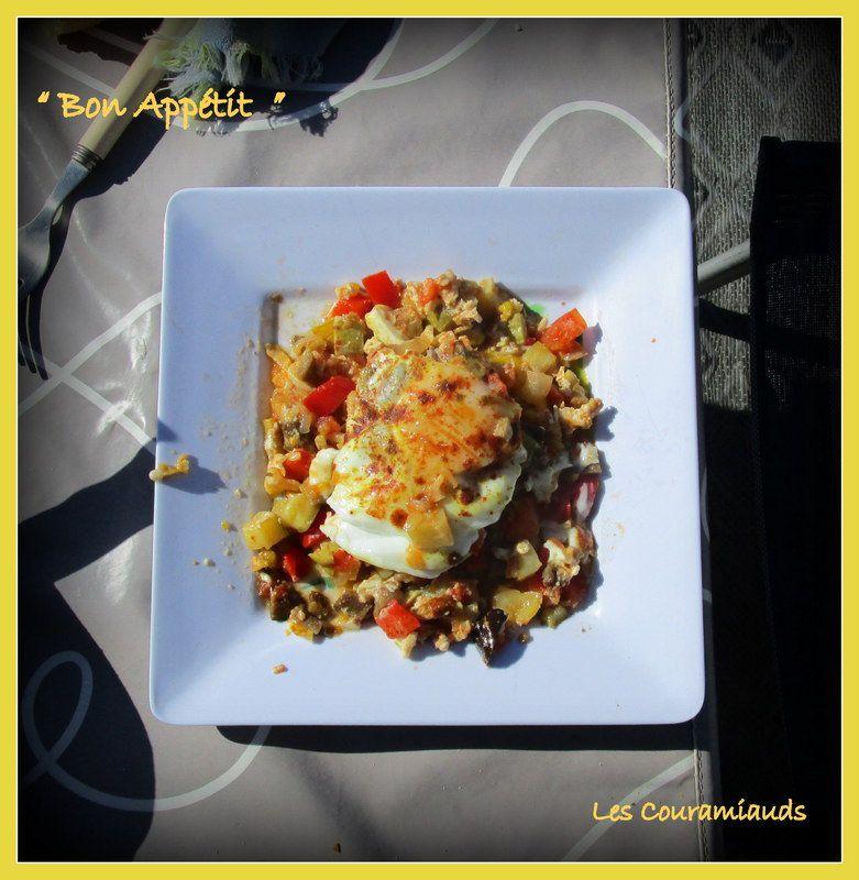"""Omelette  """" Bèrbère """""""