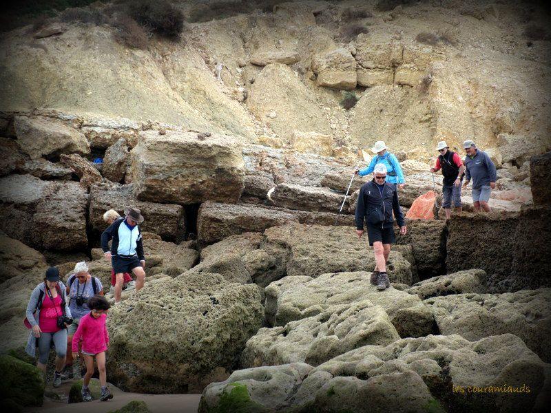 les Grottes, pointe de Taghazoute...