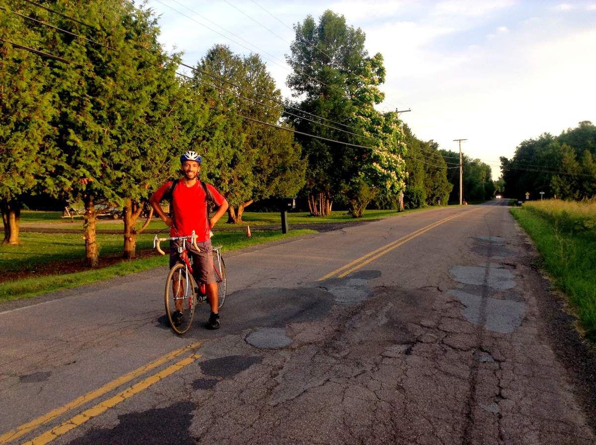 Deux jours à vélo dans le Vermont à la découverte du Lac Champlain