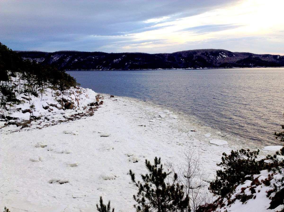 Petite escapade au Saguenay pour les fêtes