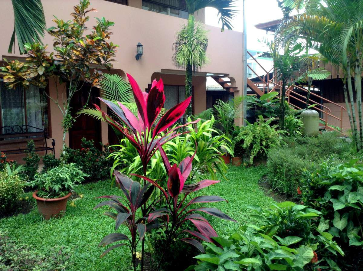 Patio du ChozaInn, La Fortuna