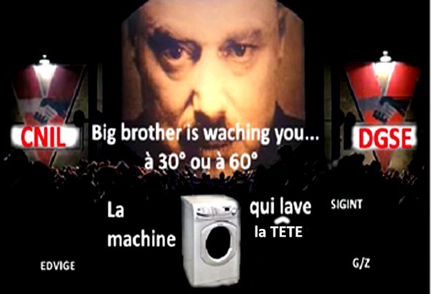 Fichage : Big Brother is espionner You !
