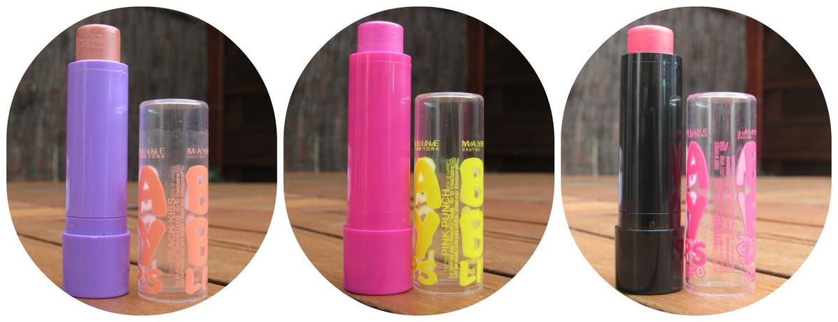 Revue sur les Baby Lips &amp&#x3B; Baby Lips electro