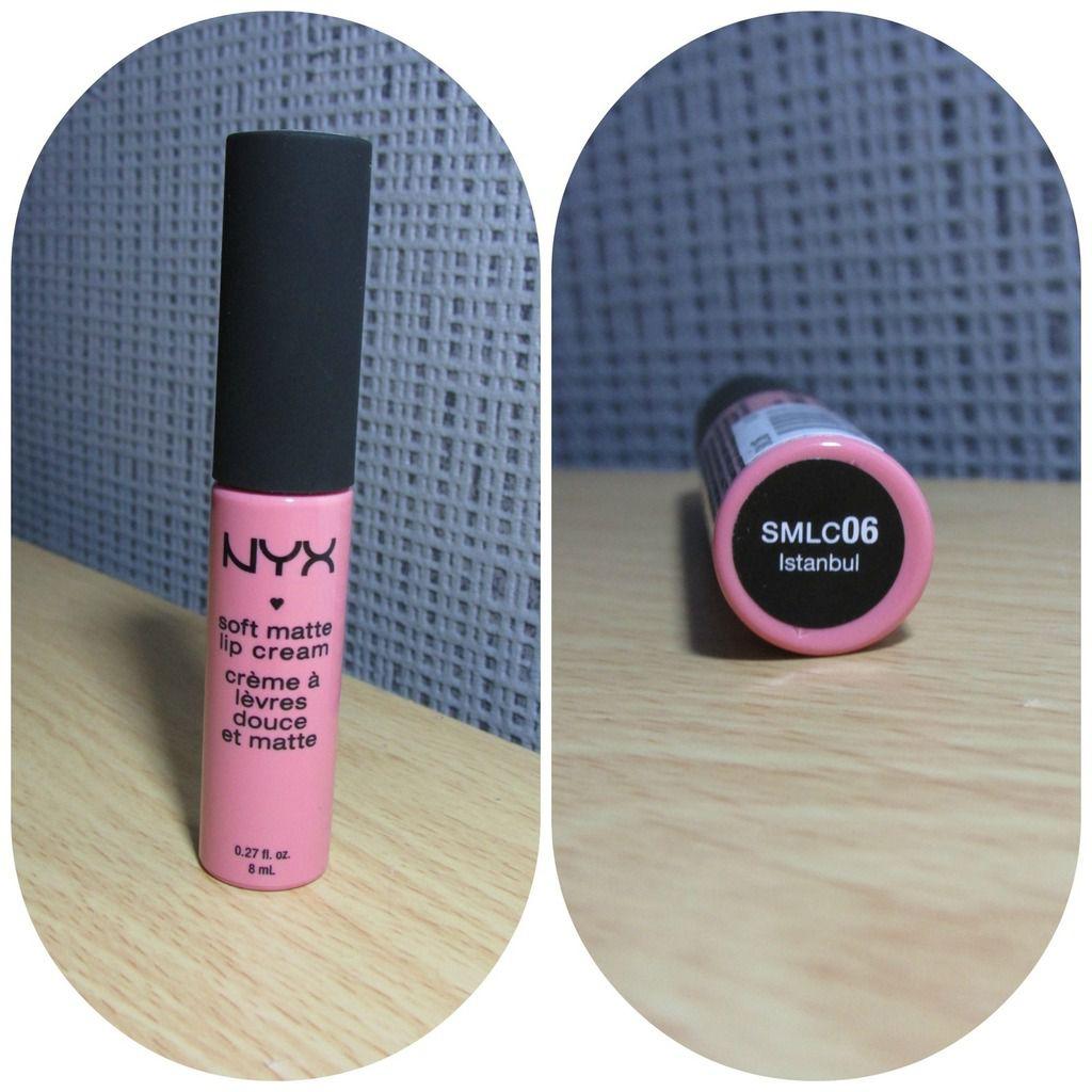 "Soft matte lip cream ""Istanbul"" NYX"