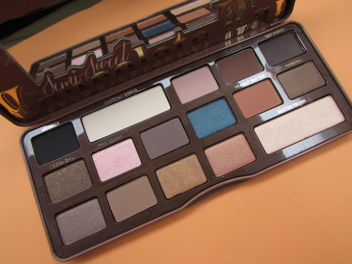 Duo de chocolat avec Too Faced !