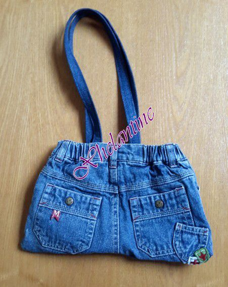Mini-sac en jean