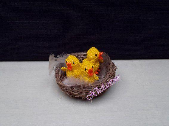 Des petits poussins... Pâques arrive à grands pas !