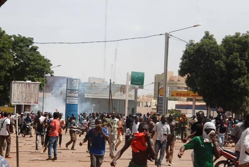 Quelques images de la revolution Burkinabè