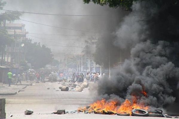 Lomé dans l'apres-midi