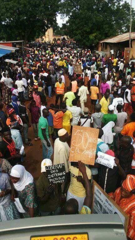 Togo Debout: Vive la révolution togolaise