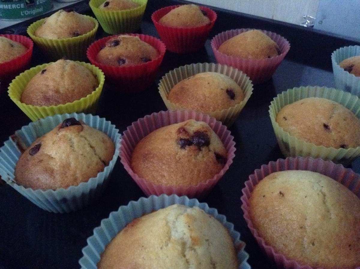 Petits muffins allégés.