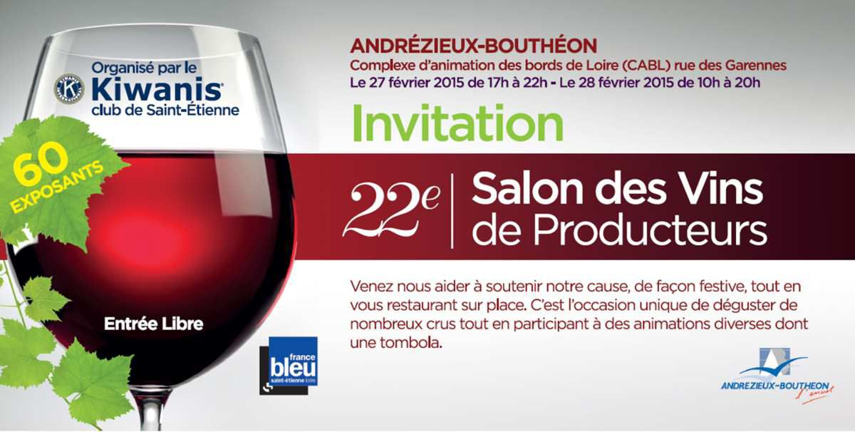 Le salon des vins du kiwanis 2015 kiwanis club de saint for Porte de champerret salon du vin