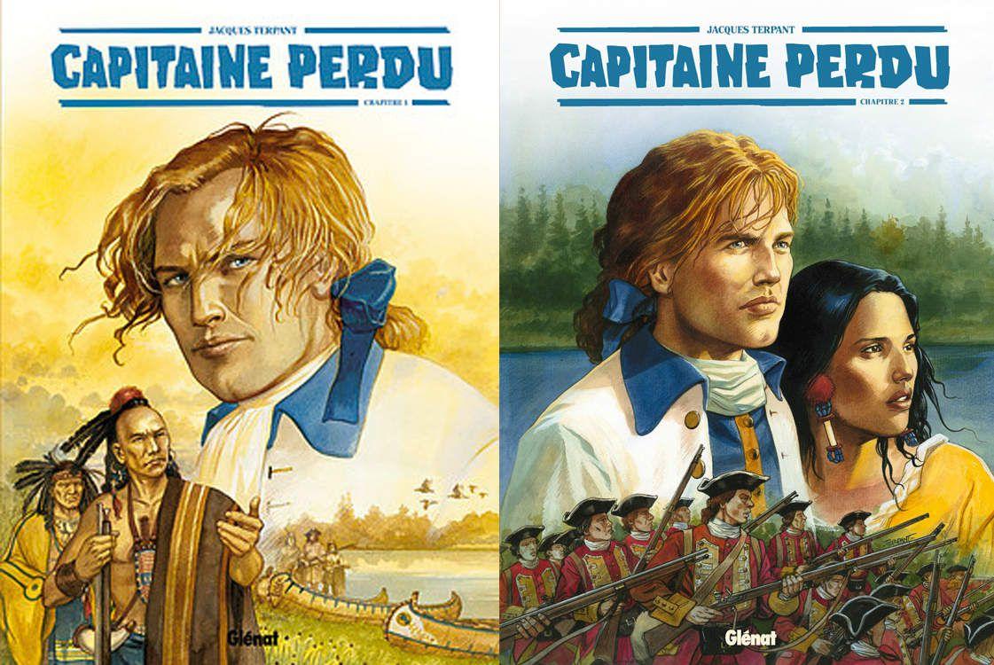 Capitaine perdu (Glénat)