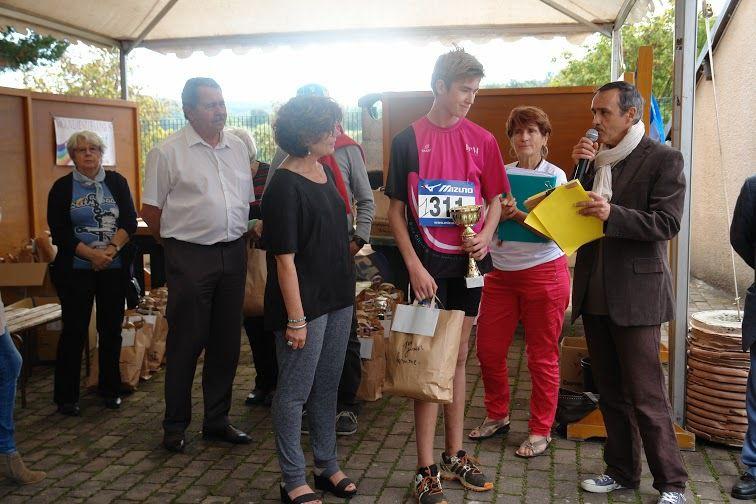 Trail de la Paix 2014: la remise des récompenses