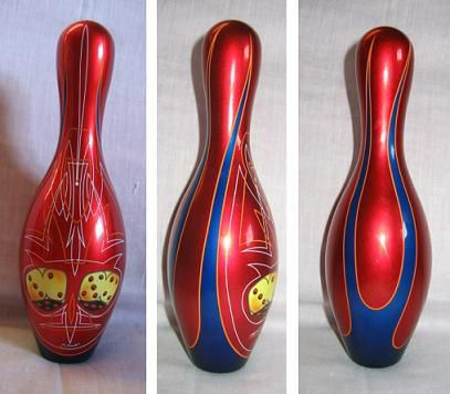 Quille de bowling kustom vintage kustom co for Decoration quille de bowling