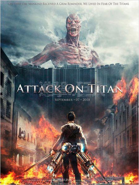 Attack On Titan (2015) le film Part1 1080p vostf V2