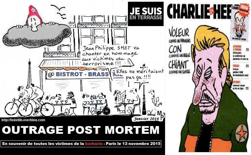 outrage vers Charlie
