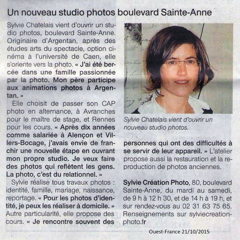Ouest france 21 10 2015