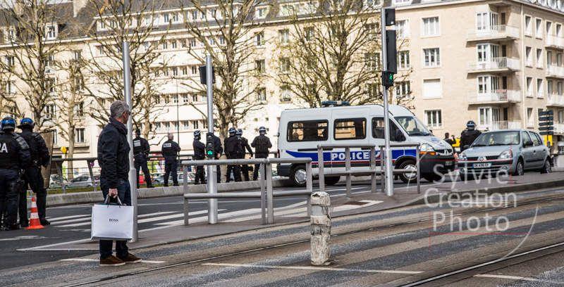 Petit aperçu de la manif du 28/04/16 à Caen