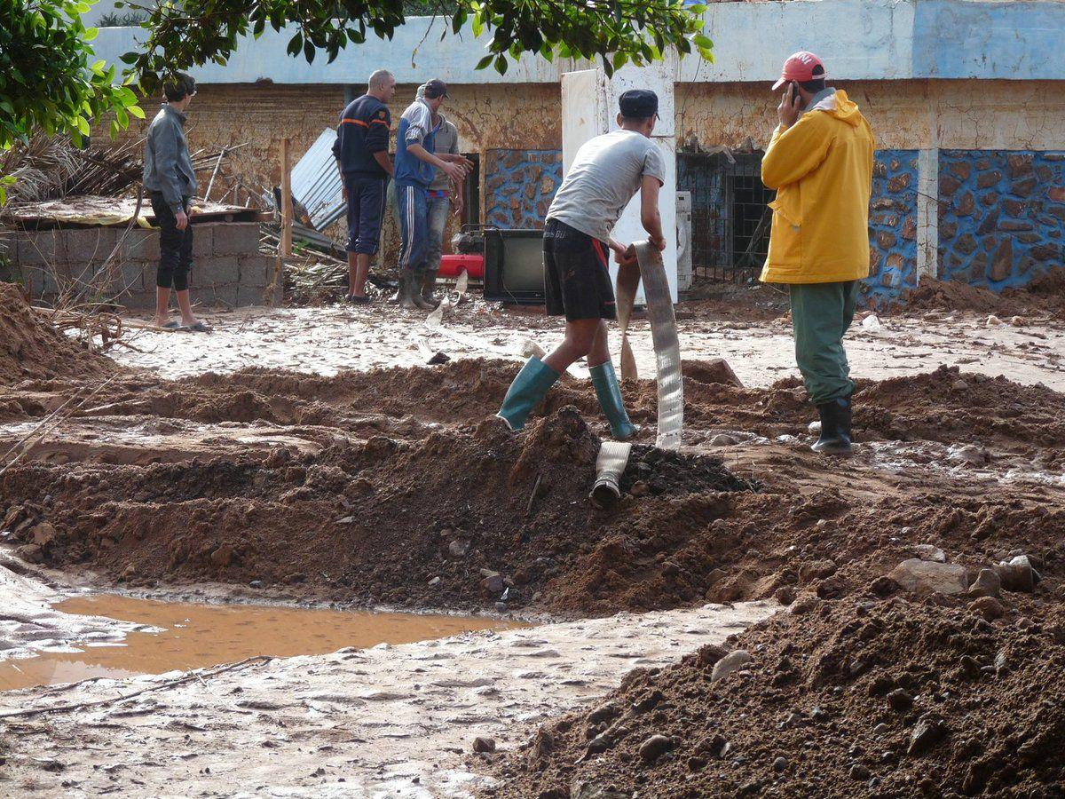 2014 - Les inondations à Sidi Ifni