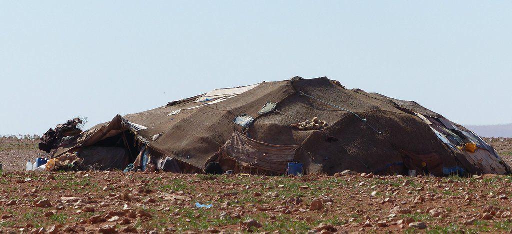 La tente ... sans le nomade !