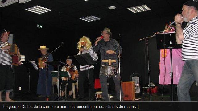 Les concerts des diatos de la cambuse