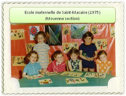 Ecole maternelle (moyenne section)...