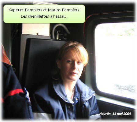 Des échanges Sapeurs-Pompiers et Marins-Pompiers...