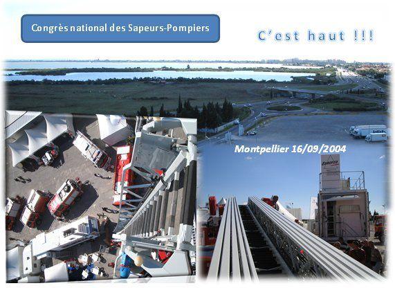Congrès national des Sapeurs-Pompiers à Montpellier...