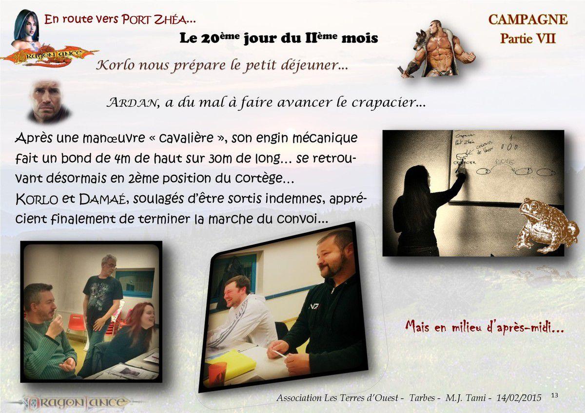 Campagne Dragon Lance, Les crapaciers...