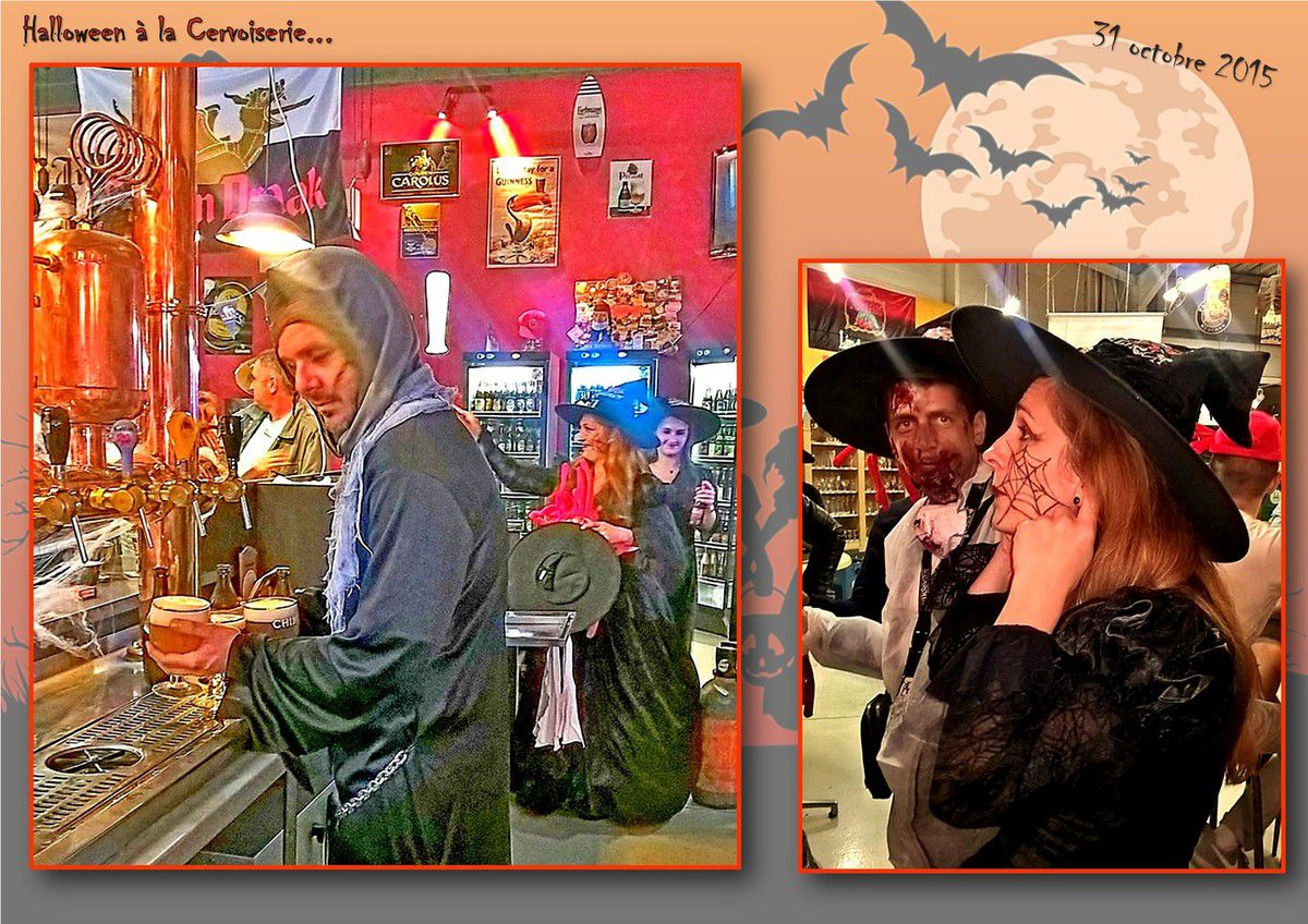 Halloween à la Cervoiserie...