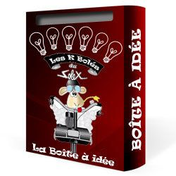 La bo te id e le blog des k bol s du solex - Boite a idees synonyme ...