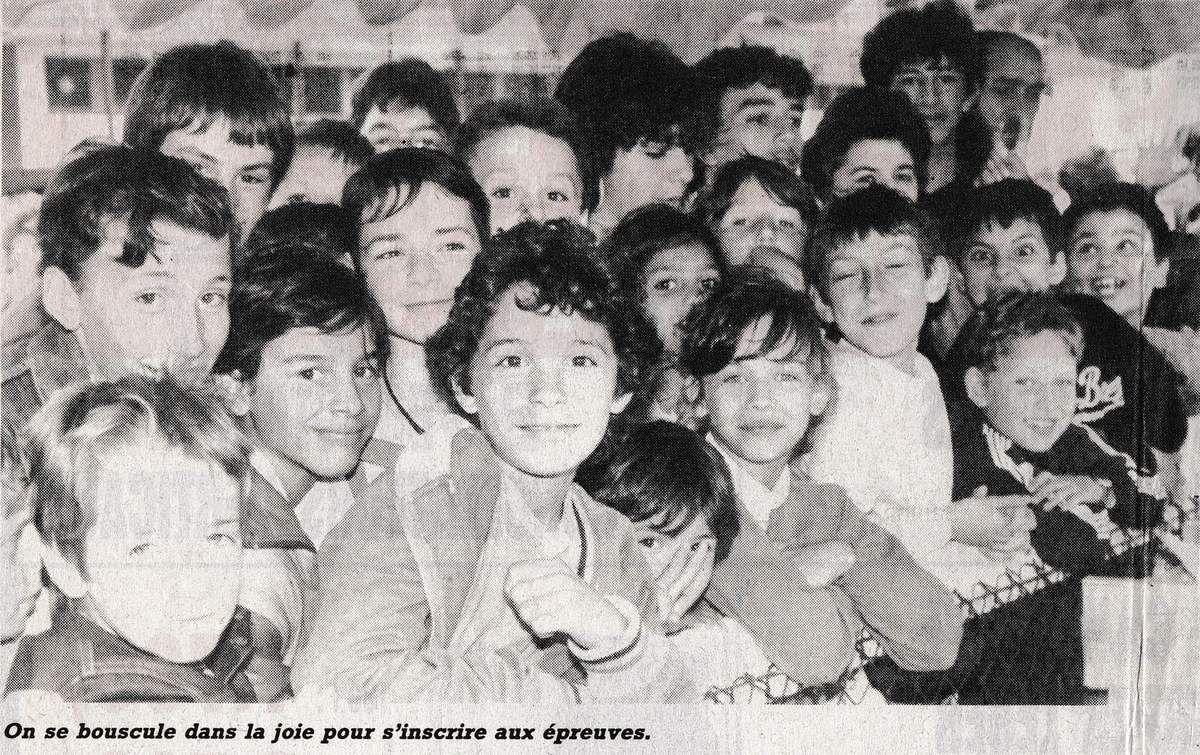 Les Mini-Jeux Olympiques d'Algrange en 1987