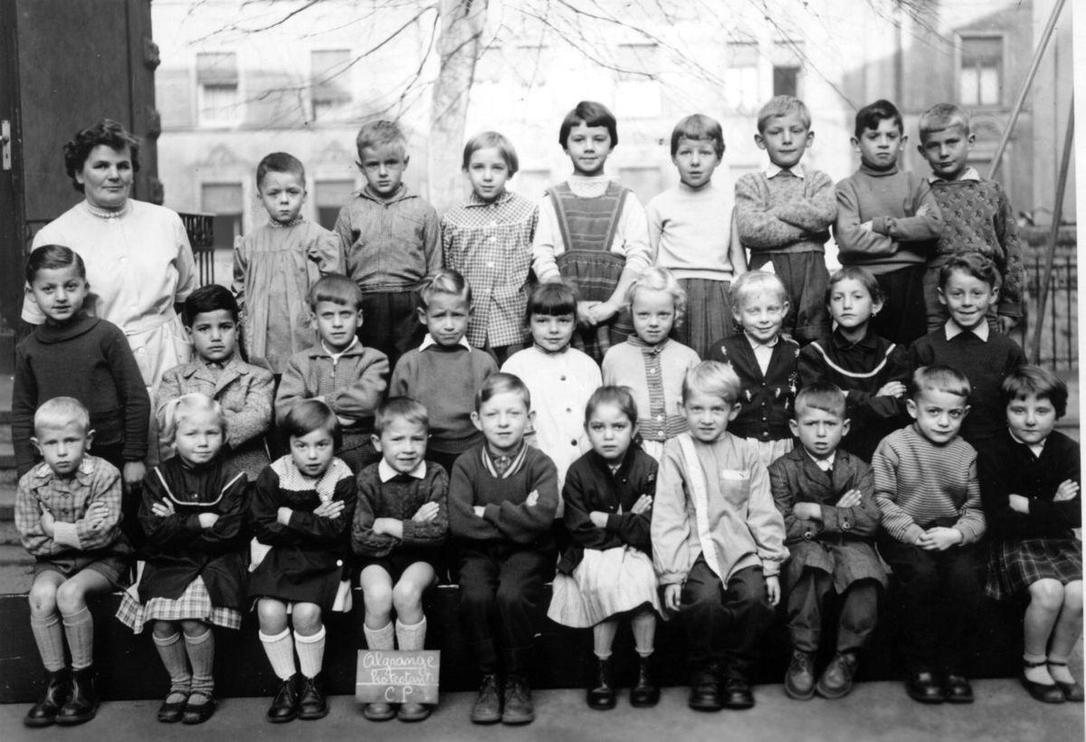 Photos de classes - Ecole de la Mairie à Algrange (3)