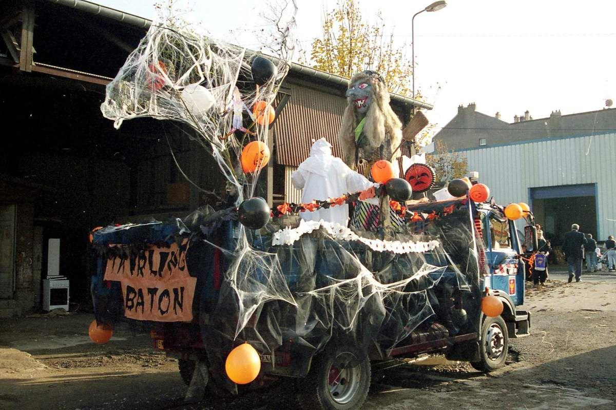 Halloween à Algrange en 1999
