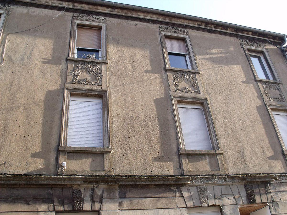 Du n° 3 au n° 13 rue de Nancy à Algrange