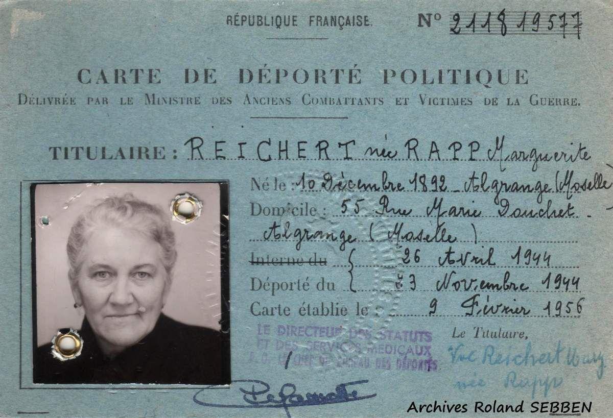 Le groupe Jean BURGER dit &quot&#x3B; MARIO &quot&#x3B; à Algrange