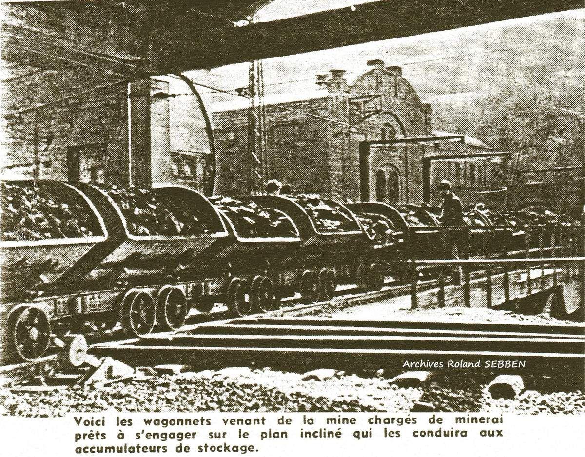 Historique de la mine de Rochonvillers à Algrange (ou Röchling) 1