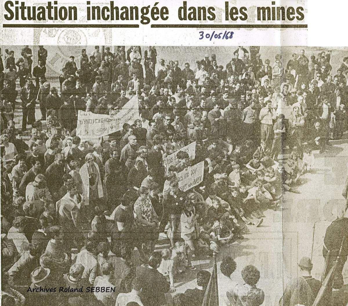 Article du républicain Lorrain du 30 mai 1968