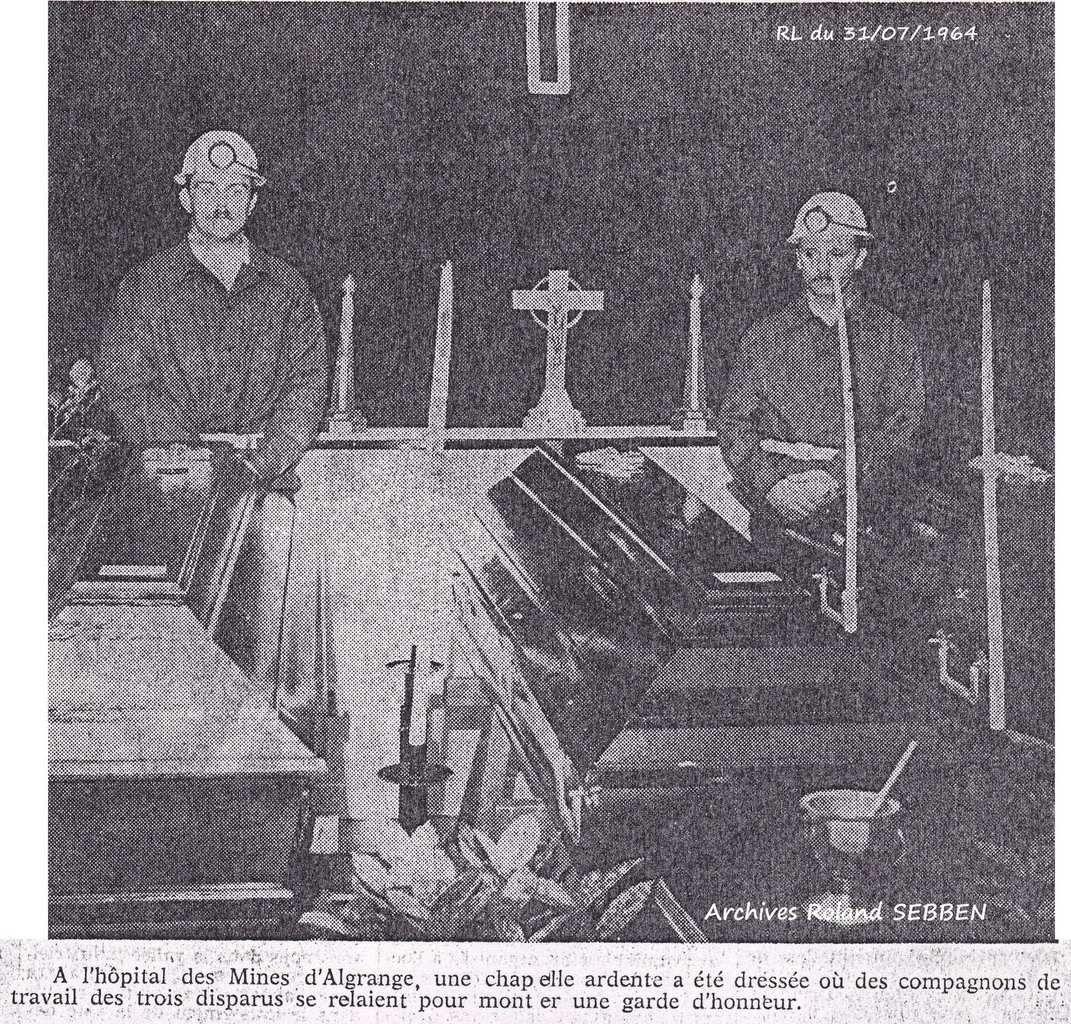 Article du Républicain Lorrain du 31 juillet 1964