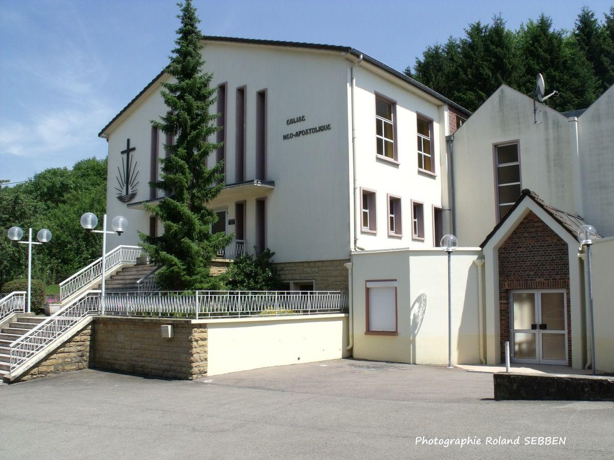 Historique de l'église néo-apostolique d'Algrange