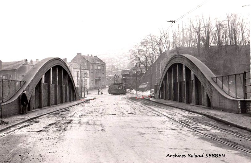 ALGRANGE: Histoire du pont menant vers Knutange.....