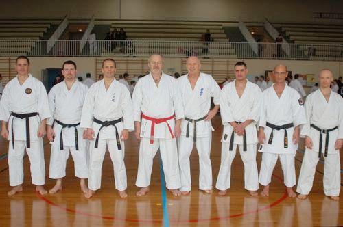 En 2006, les techniciens de la ligue avec Maître Gruss