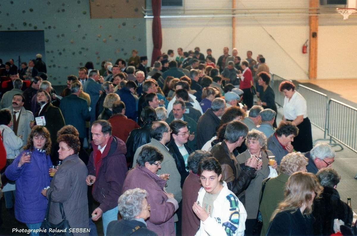 Inauguration de l'Etincelle en 1992 à Algrange