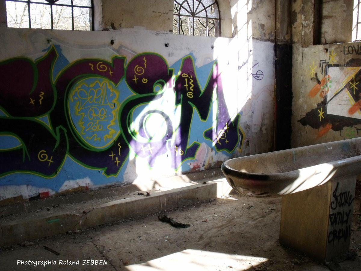 Graffs et air-soft à la mine de Rochonvillers à Algrange