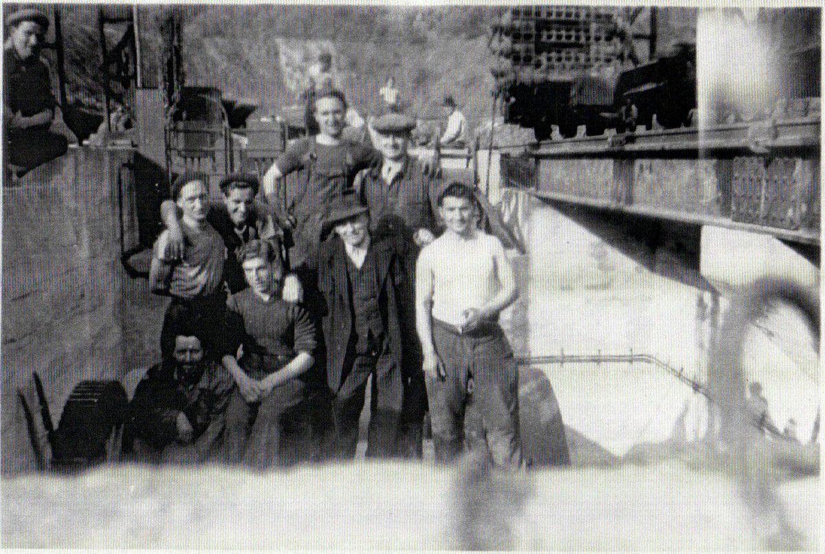 Le silo (ou concasseur) de la mine Burbach à Algrange